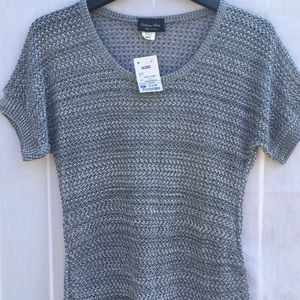 ✨NWT✨ BRITTANY BLACK MATERNITY KNITTED TOP SIZE S